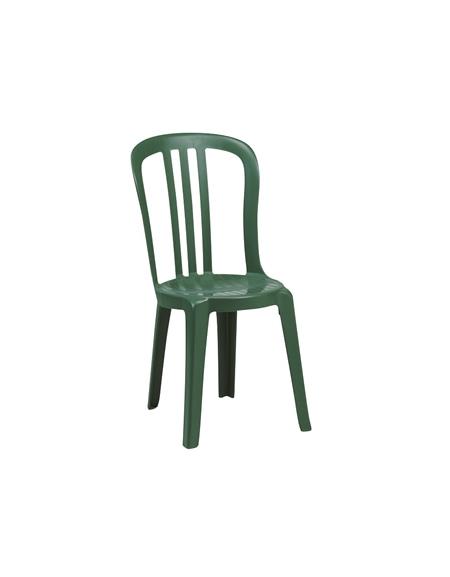 Sedie In Resina Colorate.Sedia In Resina Verde Miami Bistrot X Sedie E Tavoli Per Bar O