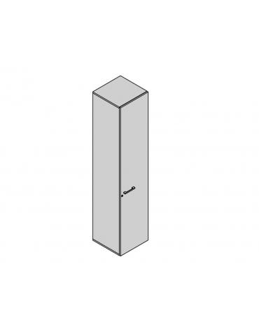 Contenitore a 1 anta 45x35x213h