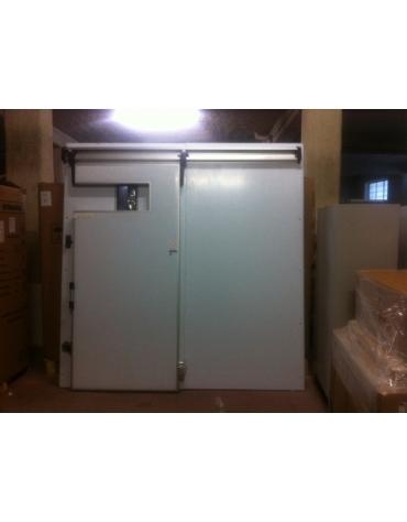 Parete per cella frigorifera con porta scorrevole-NUOVA