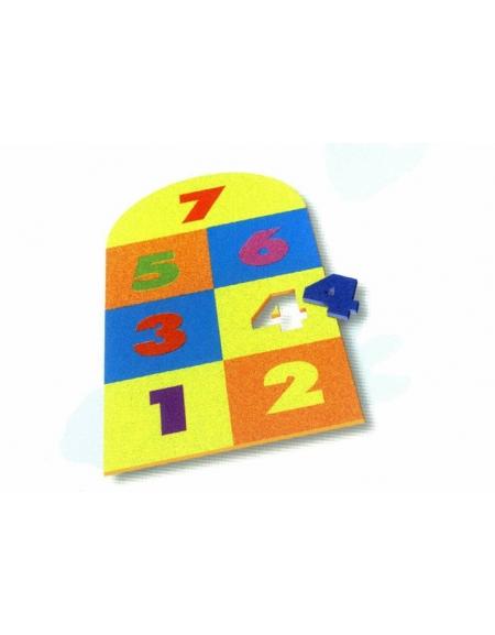 Pavimentazione con i numeri metri quadrati 2 for 2 piedi quadrati per garage