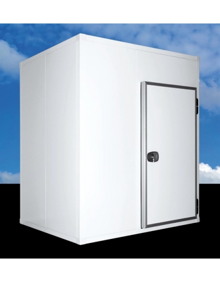 Cella frigorifera modulare industriale da cm. 134x134x254h