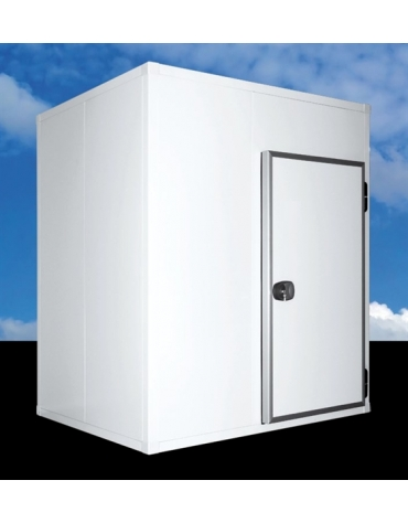 Cella frigorifera modulare industriale da cm. 534x254x254h