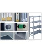 Cella frigorifera modulare industriale da cm. 614x534x254h