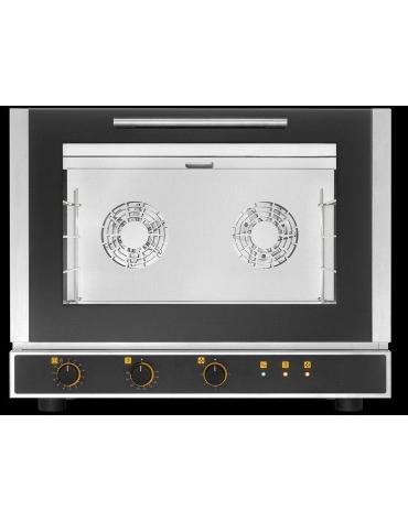 Forno elettrico a convezione con umidificatore 4 Teglie 60X40