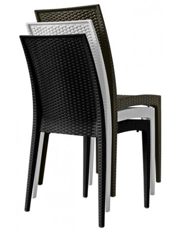 Sedia in polipropilene Elegance