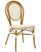 Seduta simil Bambu alluminio e textilene  mod. Montecarlo
