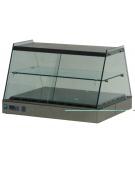Vetrina calda da banco vetri dritti cm. 168x63x55h