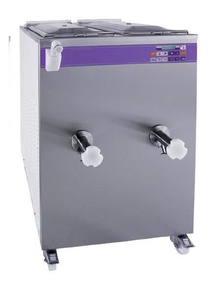 Pastorizzatore per gelato / gelateria Lt. 60+60