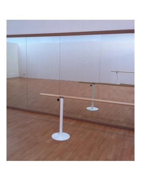 Specchio danza fissaggio a parete modulare