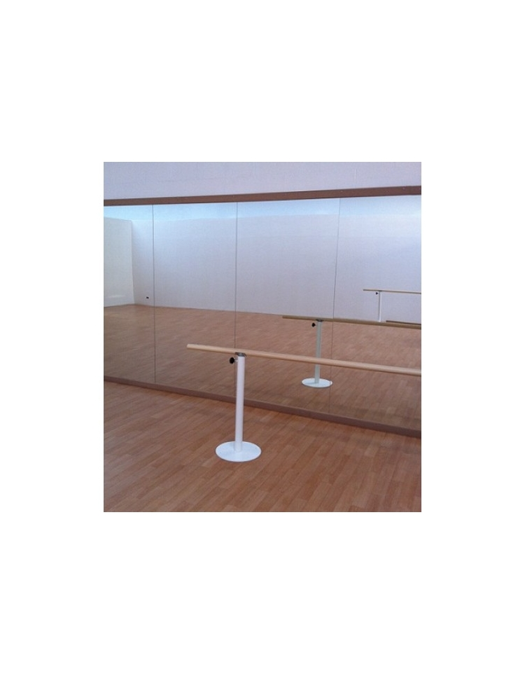Specchio danza fissaggio a parete modulare danza - Parete a specchio ...