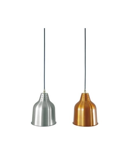 Lampada a sospensione - Colore alluminio - H. fissa cm. 95