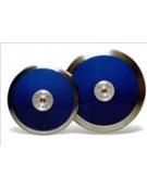 Disco in plastica con bordo in ferro kg. 0,75 IAAF