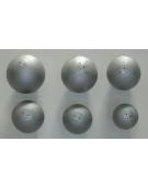 Palla getto in ferro calibrata kg.4