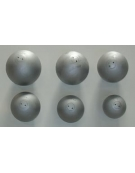 Palla getto in ferro calibrata kg.6