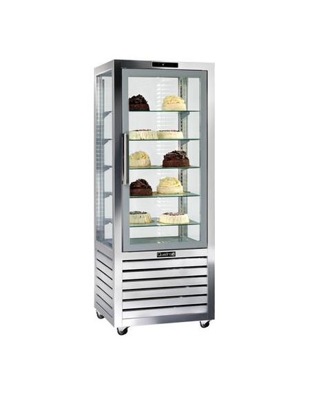 Vetrina esposizione pasticceria/gelateria no-frost cm.72x62x186h