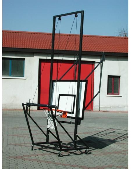 Carrello sollevamento tabellone minibasket