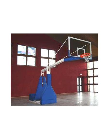 Impianto basket oleodinamico elettrico sbalzo cm.330