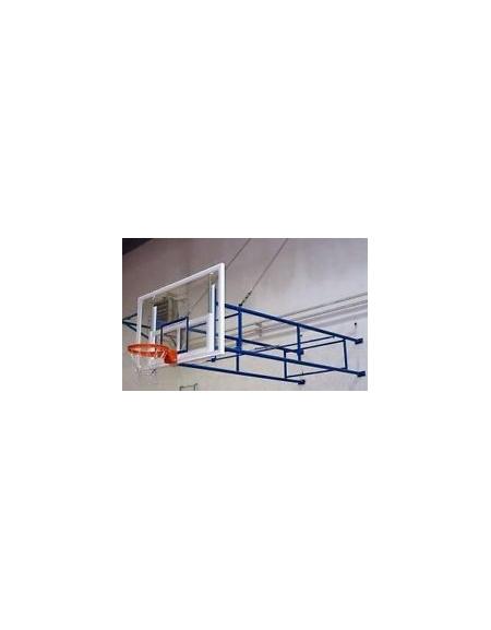 Impianto basket a parete fisso sbalzo cm.320