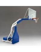Impianto basket oleodin manuale approvato FIBA, sbalzo cm.230