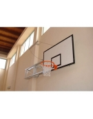 Impianto basket accostabile a parete CERTIFICATO F.I.B.A
