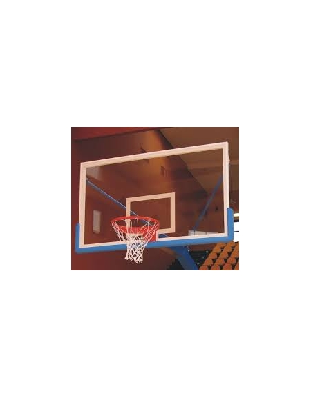 Tabellone basket in cristallo stratificato mm.6+8