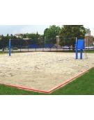 Impianto beach-volley in alluminio