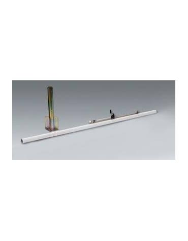 impianto beach-volley in alluminio mm.80
