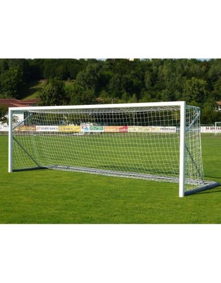 Porte Calcio A 7.Coppia Porte Calcio Trasportabili In Alluminio M 7 32x2 44