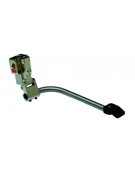 Miscelatore a pedale acqua calda e fredda montaggio a pavimento