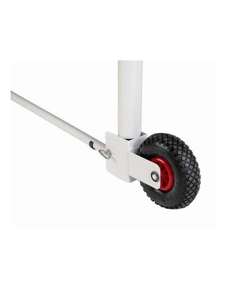 Coppia dispositivo per trasporto porte calcio