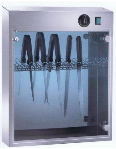 Armadietto sterilizzatore a raggi UV da 14 coltelli