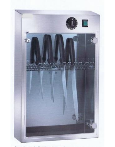 Armadietto sterilizzatore elettrico a raggi UV da 10 coltelli