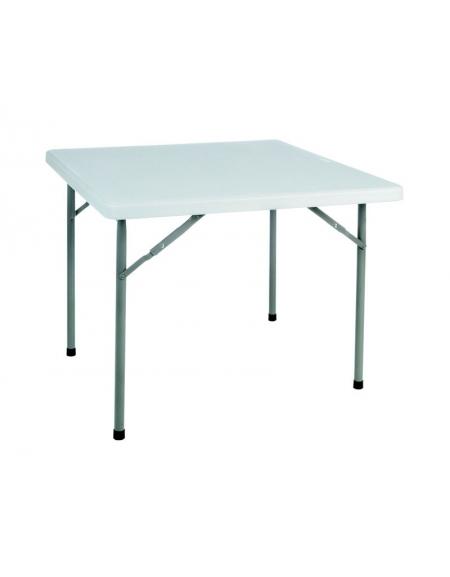 Tavoli Pieghevoli Per Catering.Tavolo Catering Quadrato Pieghevole In Polietilene Cm 87 X 87 X 74h