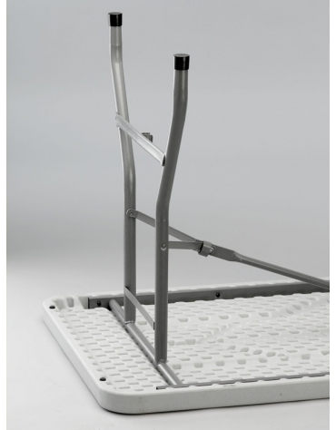 Tavolo catering rettangolare pieghevole in polietilene cm 183x76