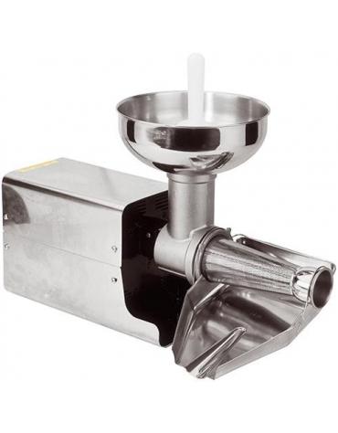 Passapomodoro elettrico professionale inox Produzione/h 100 Kg