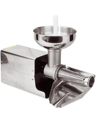 Passapomodoro elettrico professionale inox Produzione/h 200 Kg
