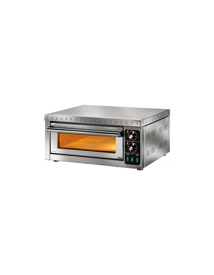 Forno elettrico per pizza camera singola con vetro cm 41x36x9h camere di cottura forni per - Forno elettrico per pizze ...