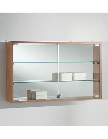 Bacheca con schienale a specchio cm 81x15x49h