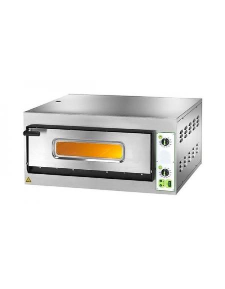 Forno per pizzeria elettrico da 6 pizze camera cm 66x99 - Forno per pizza elettrico ...