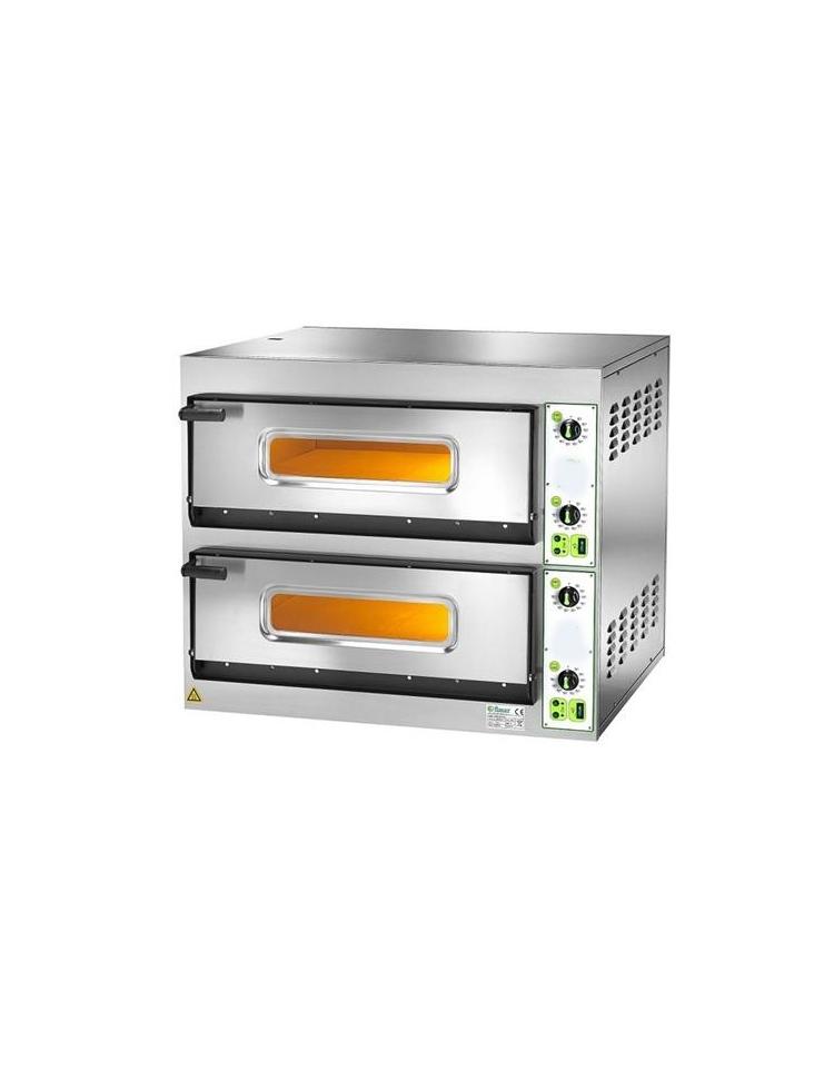 Forno per pizzeria elettrico da 4 4 pizze camera cm 66x66x14h camere di cottura forni per - Forno elettrico per pizze ...