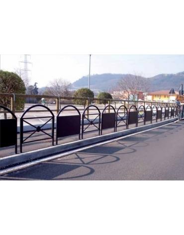Barriera Portogallo con pannello pubblicitario