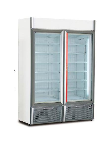 Vetrina Congelatore Verticale Litri 1100 DOPPIA PORTA
