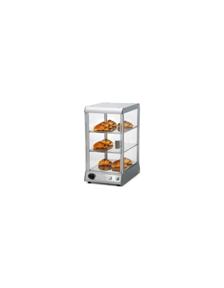 Vetrina da banco calda con vetri curvi cm 30x40x70 5h for 30 x 40 piani di garage con soppalco