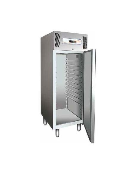 Armadio frigorifero inox per pasticceria 2° +8°C N° 20 Teglie 60x40 cm 74x99x201h