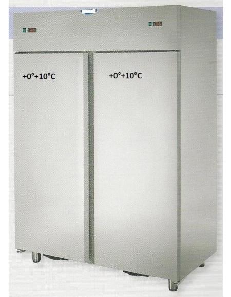 Armadio frigo combinato due temperature TN(0°+8°C)/TN(0 ...