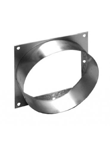 Attacco per connessione da canale quadro cm 35x35 a tondo Ø cm35