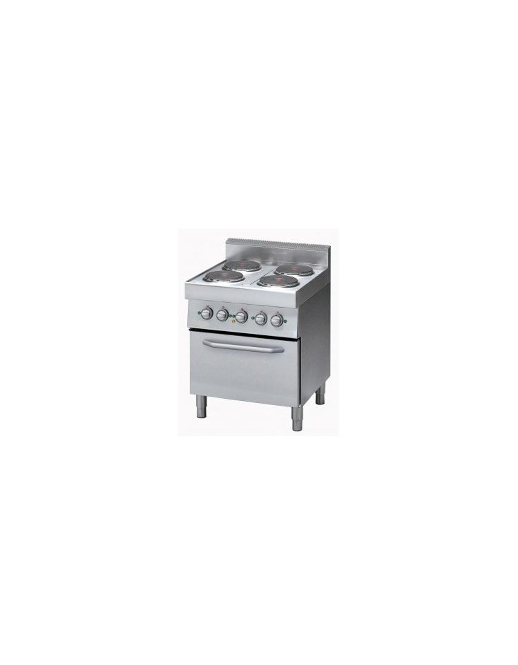 Cucina elettrica 4 piastre elettriche con forno elettrico a conv cucine piastre tonde - Cucina con piastra elettrica ...