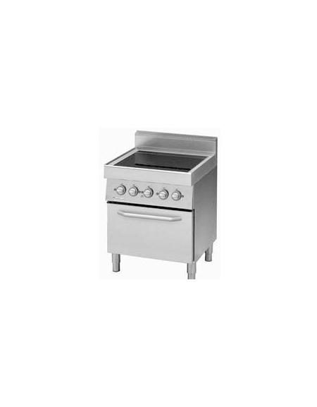 Cucina elettrica piano di cottura in vetroceramica forno - Cucina vetroceramica ...