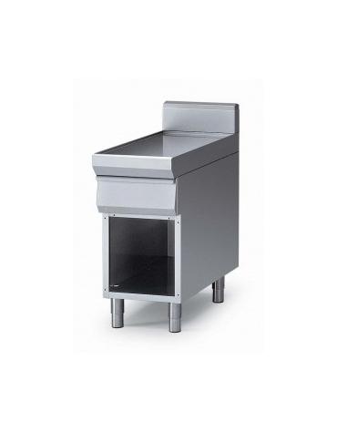 Elemento neutro con cassetto su armadio aperto m.90/40