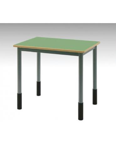 Banco monoposto regolabile trigrandezza sottopiano griglia metallica CM 70X50